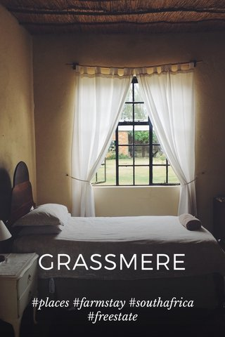 GRASSMERE #places #farmstay #southafrica #freestate