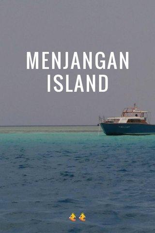 MENJANGAN ISLAND 🏂🏂