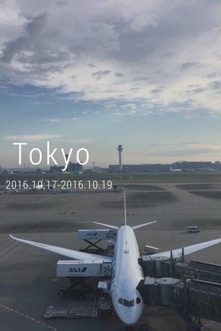 Tokyo 2016.10.17-2016.10.19