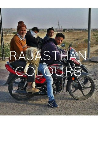 RAJASTHAN COLOURS