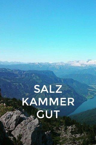 SALZ KAMMER GUT