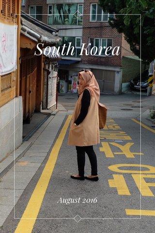 South Korea August 2016
