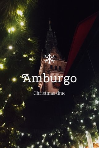 Amburgo Christmas time