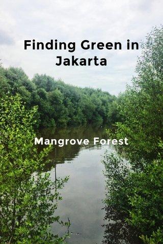 Finding Green in Jakarta Mangrove Forest