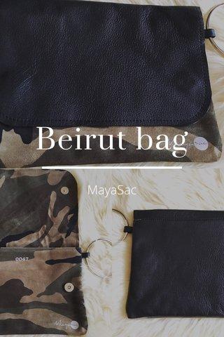 Beirut bag MayaSac