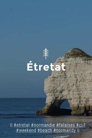 Étretat    #etretat #normandie #falaises #clif #weekend #beach #normandy   