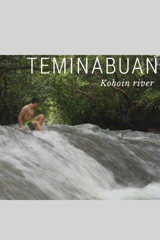 TEMINABUAN Kohoin river