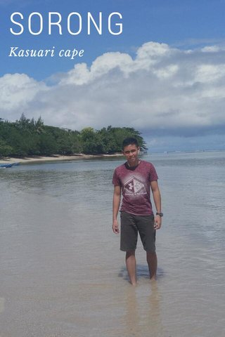 SORONG Kasuari cape