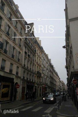 PARIS @hifadeli