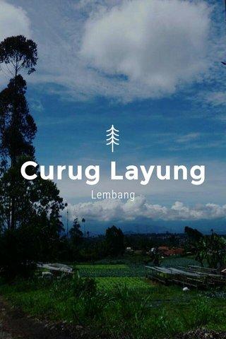 Curug Layung Lembang