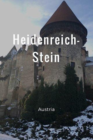 Heidenreich- Stein Austria