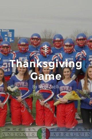 Thanksgiving Game By Megi Zaclli