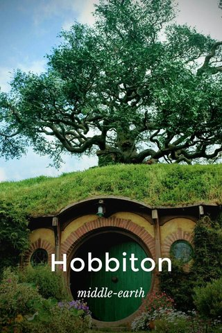 Hobbiton middle-earth