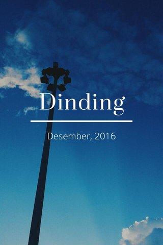 Dinding Desember, 2016