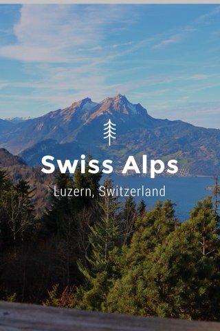 Swiss Alps Luzern, Switzerland