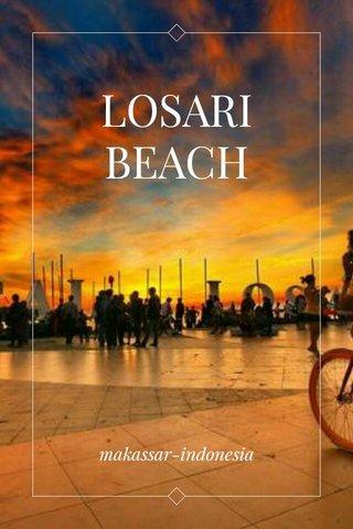 LOSARI BEACH makassar-indonesia