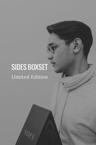SIDES BOXSET Limited Edition