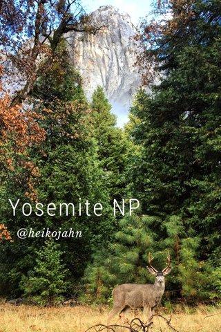 Yosemite NP @heikojahn