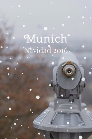 Munich Navidad 2016