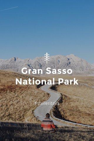 Gran Sasso National Park #stelleritalia