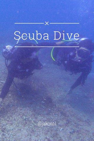 Scuba Dive @jakontil