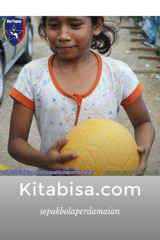 Kitabisa.com sepakbolaperdamaian