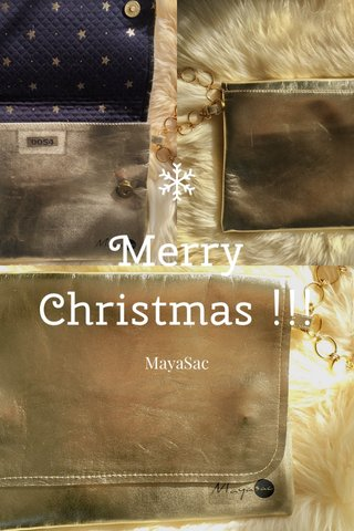 Merry Christmas !!! MayaSac