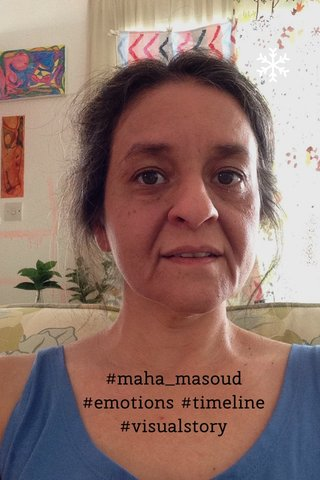#maha_masoud #emotions #timeline #visualstory