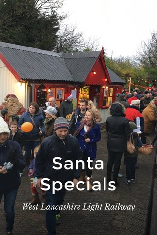 Santa Specials West Lancashire Light Railway