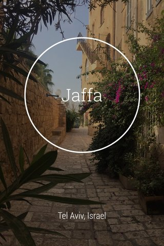 Jaffa Tel Aviv, Israel