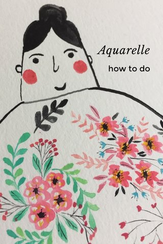 Aquarelle how to do