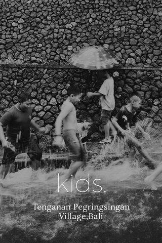 kids. Tenganan Pegringsingan Village,Bali