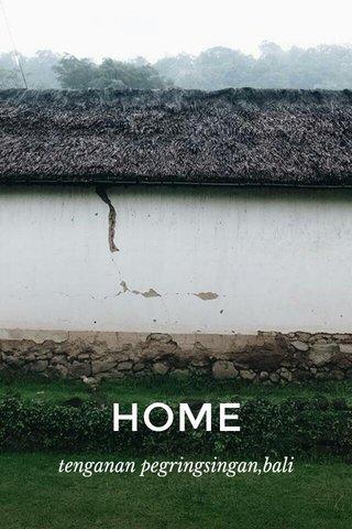HOME tenganan pegringsingan,bali