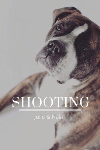 SHOOTING Julie & Nala