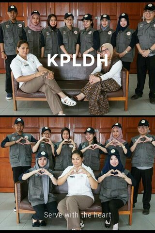 KPLDH Serve with the heart