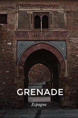 GRENADE Espagne
