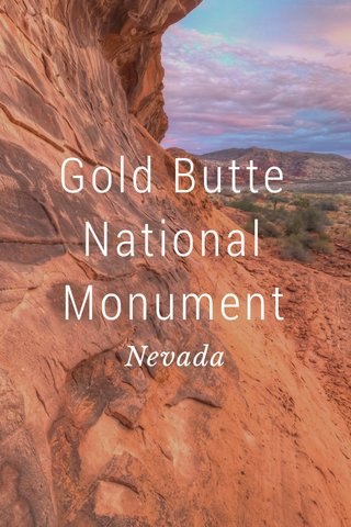 Gold Butte National Monument Nevada