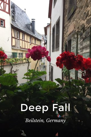 Deep Fall Beilstein, Germany
