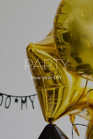 PARTY New year DIY