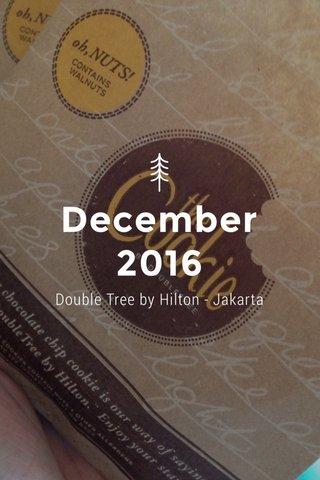 December 2016 Double Tree by Hilton - Jakarta