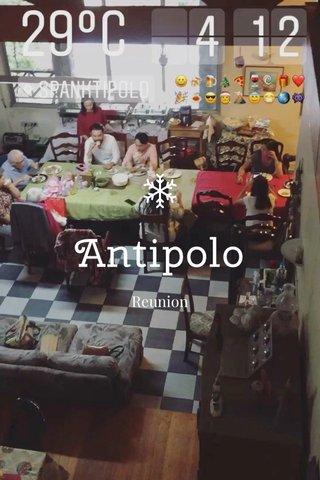 Antipolo Reunion