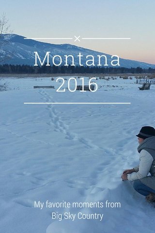 Montana 2016 My favorite moments from Big Sky Country