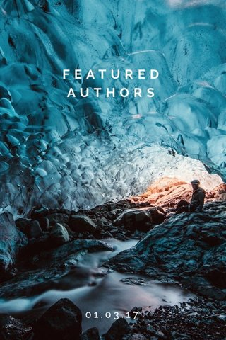 FEATURED AUTHORS 01.03.17