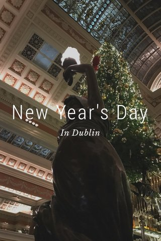 New Year's Day In Dublin