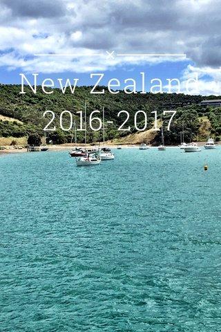 New Zealand 2016-2017