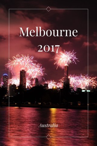 Melbourne 2017 Australia