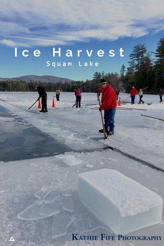 Ice Harvest Squam Lake