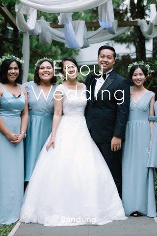 Epoy Wedding Bandung