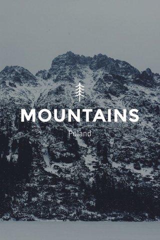 MOUNTAINS Poland