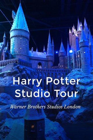 Harry Potter Studio Tour Warner Brothers Studios London